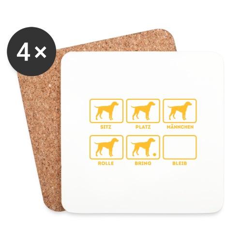 Für alle Hundebesitzer mit Humor - Untersetzer (4er-Set)