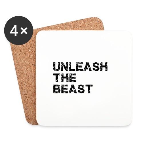 UnleashTheBeast - Dessous de verre (lot de 4)