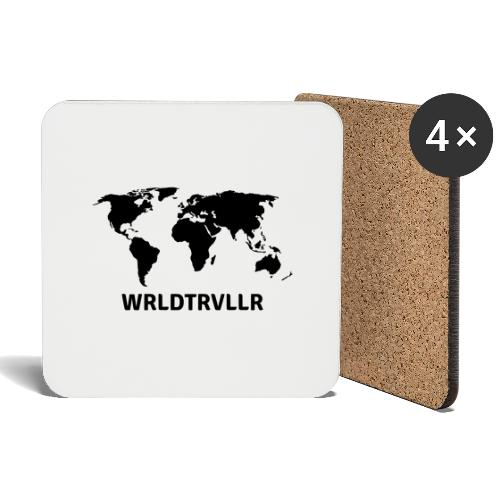 Worldtraveller - Untersetzer (4er-Set)