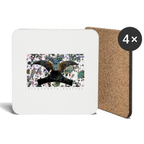 Blue Mojitos (w) - Coasters (set of 4)