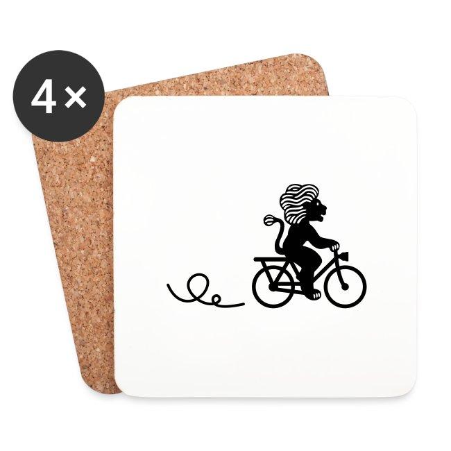 Züri-Leu beim Velofahren ohne Text