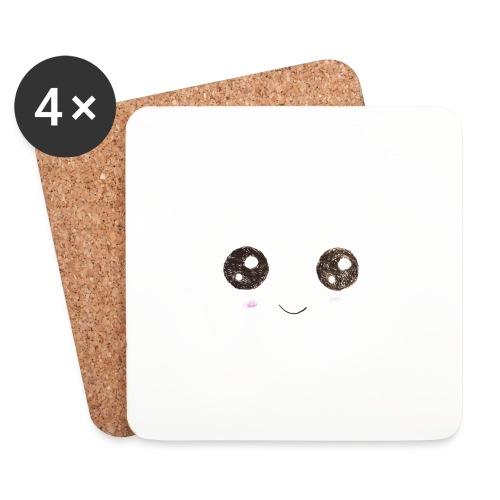 Kids for Kids: Smiling Face - Untersetzer (4er-Set)