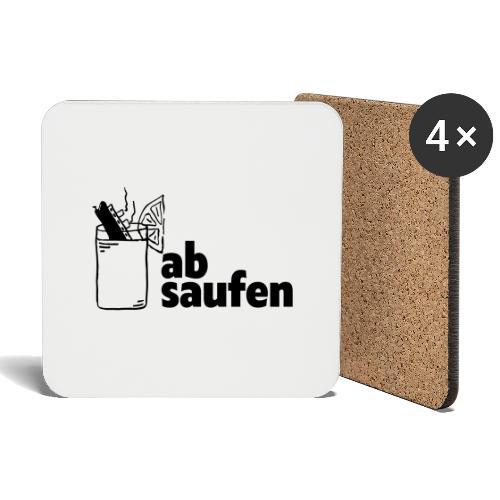 absaufen - Untersetzer (4er-Set)