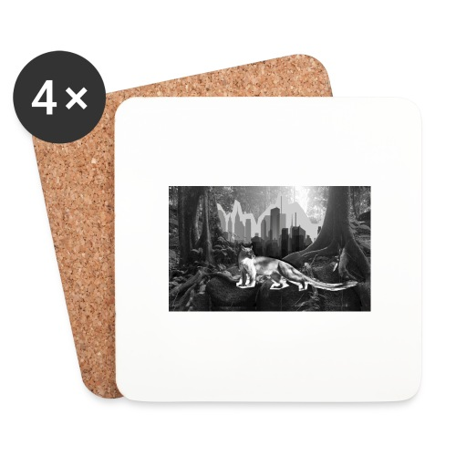 Fossa & Jungle - Coasters (set of 4)