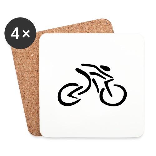 fietsen - Onderzetters (4 stuks)
