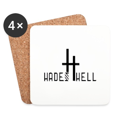 hadeshell black 3D - Untersetzer (4er-Set)
