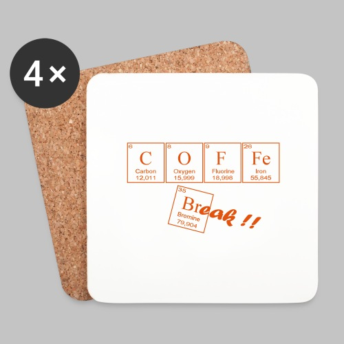 Coffee Break - Coasters (set of 4)