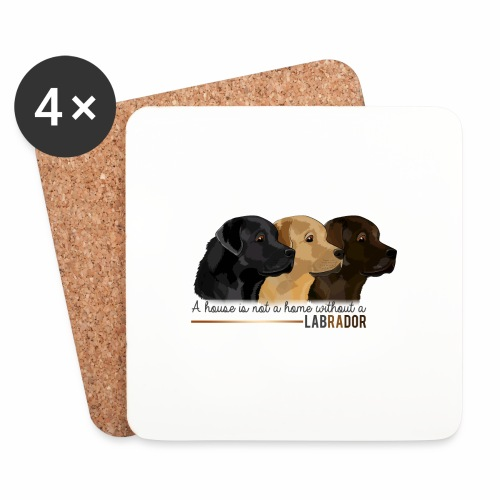 Labrador - Dessous de verre (lot de 4)
