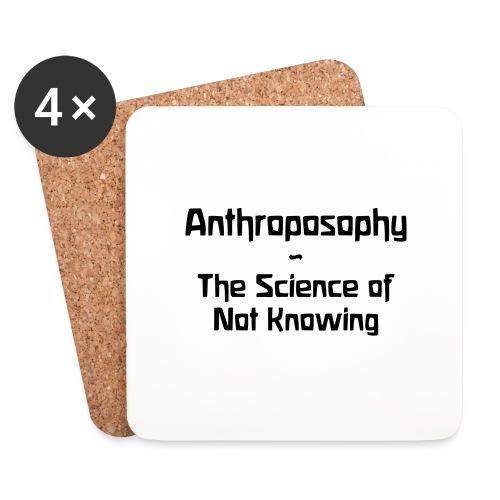 Anthroposophy The Science of Not Knowing - Untersetzer (4er-Set)