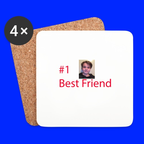 #1 Best Friend - Underlägg (4-pack)