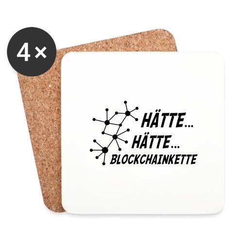 Blockchainkette - Untersetzer (4er-Set)
