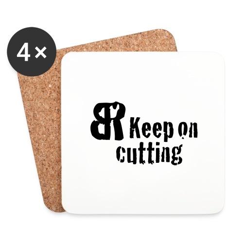keep on cutting 1 - Untersetzer (4er-Set)