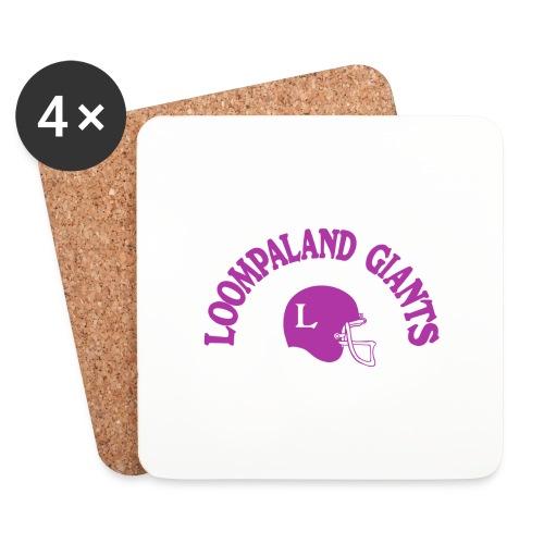 Willy Wonka heeft een team - Onderzetters (4 stuks)