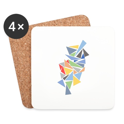Modern Triangles - Coasters (set of 4)