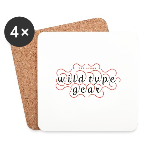 wtg stiched 2 - Coasters (set of 4)