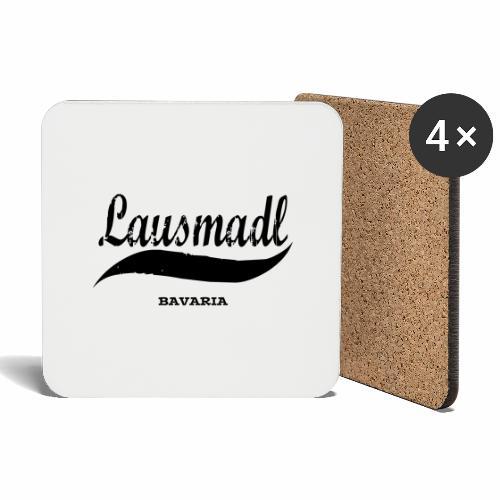 LAUSMADL BAVARIA - Untersetzer (4er-Set)