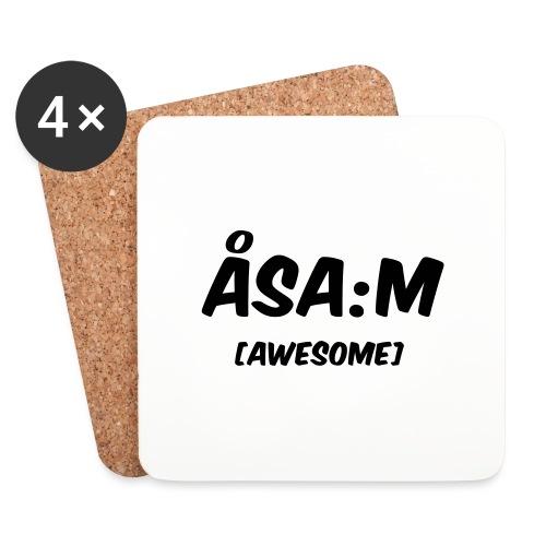 Åsa:m [awesome] - Underlägg (4-pack)