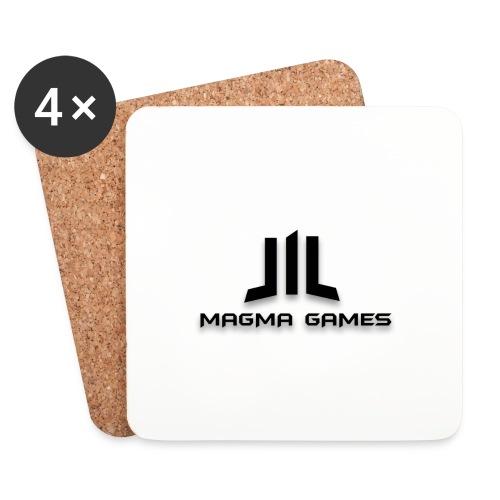 Magma Games sweater grijs met zwart logo - Onderzetters (4 stuks)