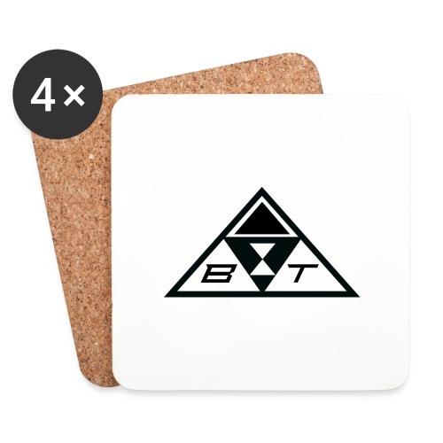 logo beatsux - Sottobicchieri (set da 4 pezzi)
