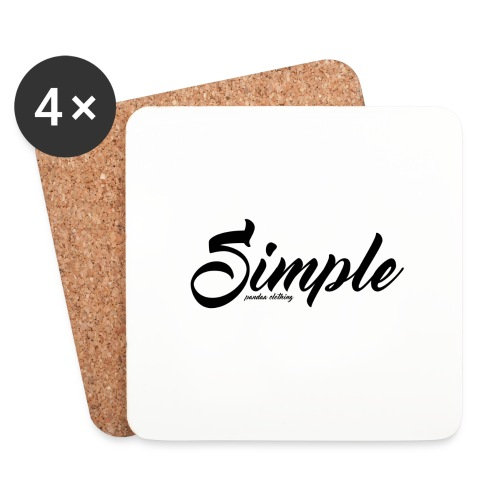 Simple: Clothing Design - Coasters (set of 4)
