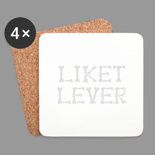 Liket Lever - Underlägg (4-pack)