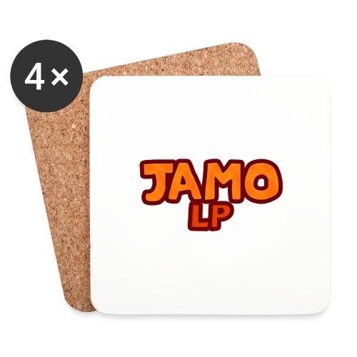 JAMOLP Logo Mug - Glasbrikker (sæt med 4 stk.)