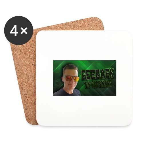 Geebaek - Glasbrikker (sæt med 4 stk.)