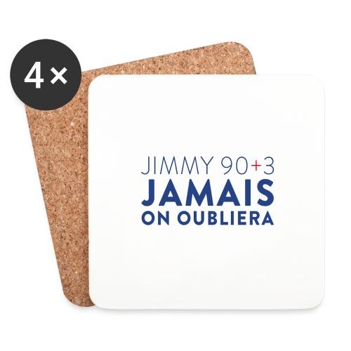 Jimmy 90+3 : Jamais on oubliera - Dessous de verre (lot de 4)