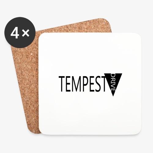 Tempest Drive: Full Logo - Glasbrikker (sæt med 4 stk.)