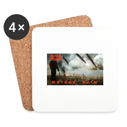 Meteor rain - Sottobicchieri (set da 4 pezzi)