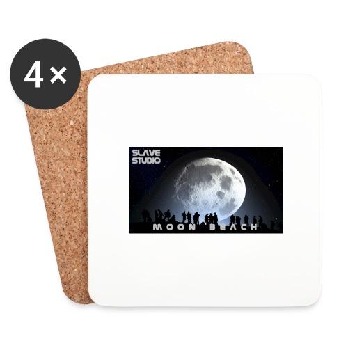 Moon beach - Sottobicchieri (set da 4 pezzi)