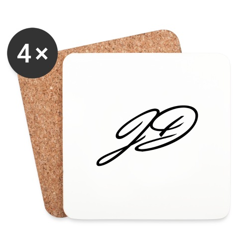 Jamie Debnam Logo - Coasters (set of 4)
