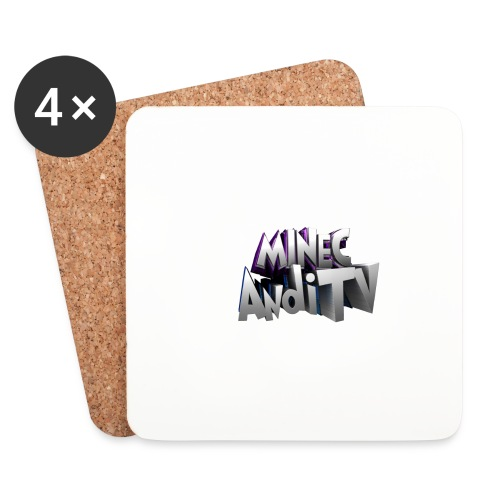 MinecAndiTV - Untersetzer (4er-Set)