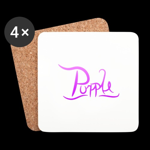 PurpleDesigns - Coasters (set of 4)