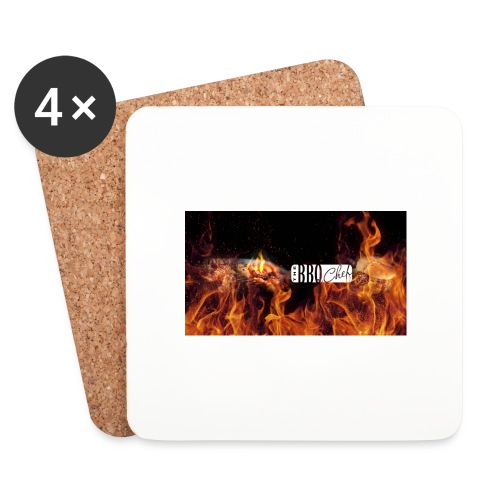 Barbeque Chef Merchandise - Coasters (set of 4)