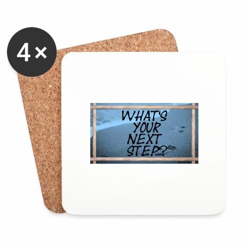 NEXT STEP - Untersetzer (4er-Set)