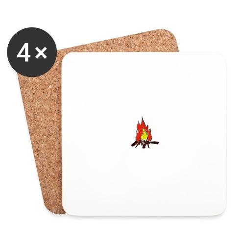 Fire color fuoco - Sottobicchieri (set da 4 pezzi)