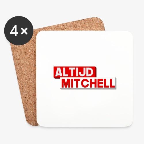 AltijdMitchell - Onderzetters (4 stuks)