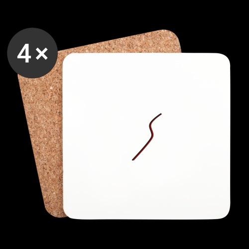 logo Style red - Dessous de verre (lot de 4)