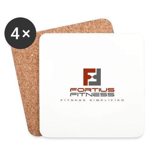 Fortius Fitness - Glasbrikker (sæt med 4 stk.)