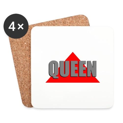 Queen, by SBDesigns - Dessous de verre (lot de 4)