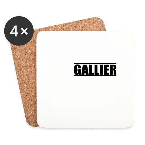 MyLogoUpdate - Coasters (set of 4)