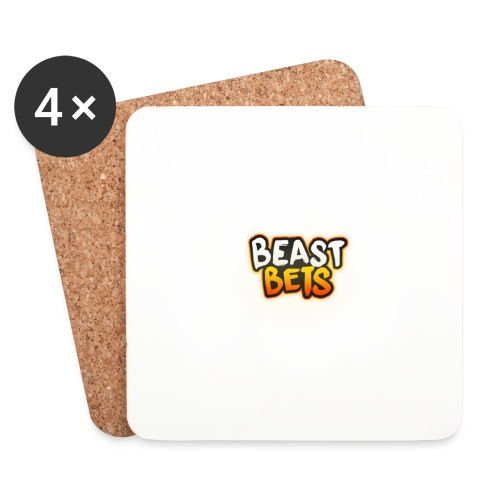 BeastBets - Glasbrikker (sæt med 4 stk.)