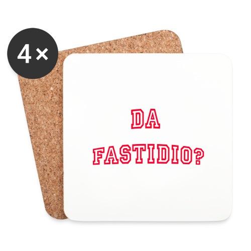DaFastidio - Sottobicchieri (set da 4 pezzi)