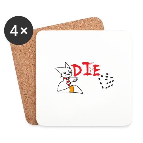 DIE - Coasters (set of 4)