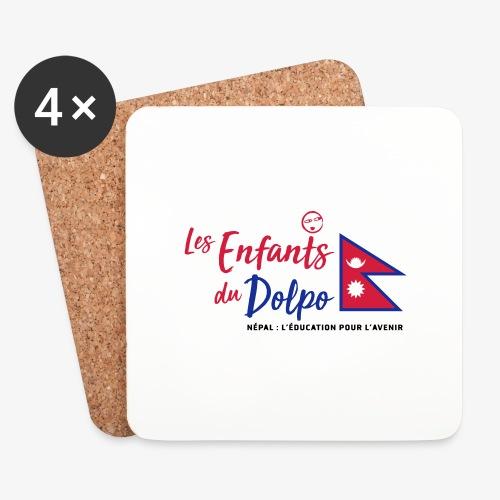 Les Enfants du Doplo - Grand Logo Centré - Dessous de verre (lot de 4)