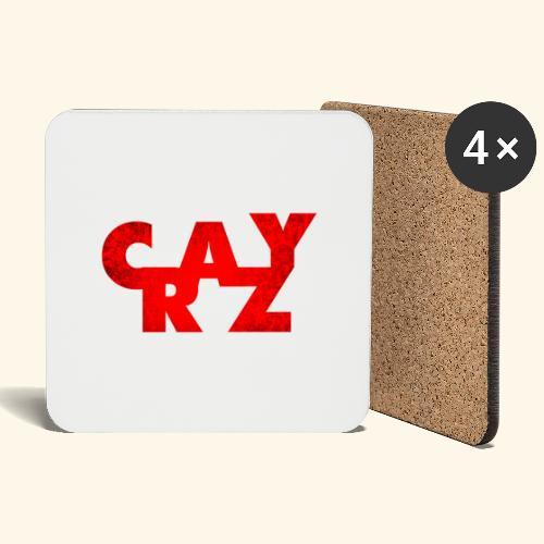 CRAZY - Coasters (set of 4)