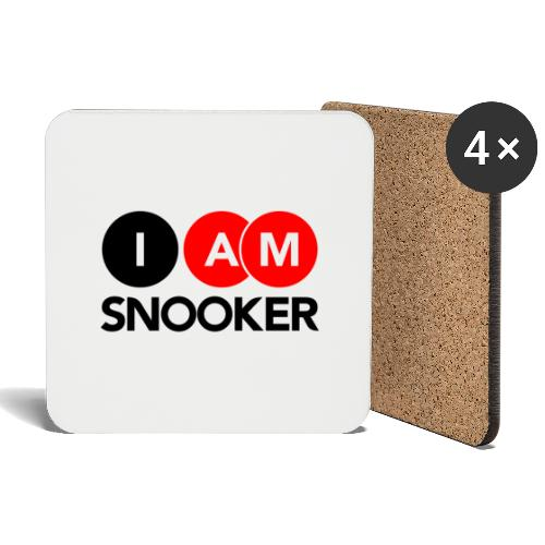 I AM SNOOKER - Coasters (set of 4)