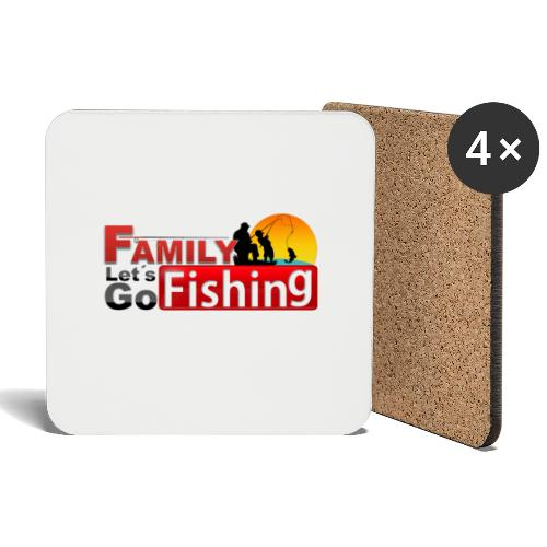 FAMILY LET´S GO FISHING FONDO - Posavasos (juego de 4)