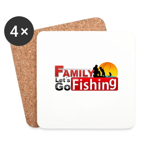 FAMILY LET'S GO FISHING FUND - Coasters (set of 4)